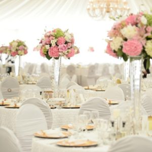 Decor by professional wedding planner