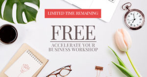 Free Accelerate Your Event Planning Business Workshop Promotion