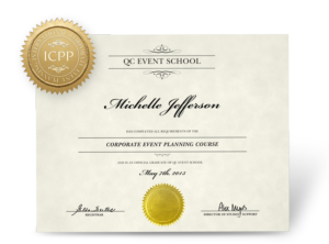 Corporate Event Planning Certificate
