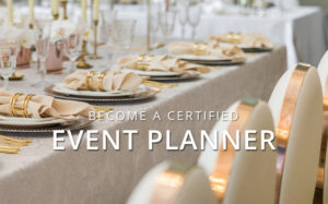 Become a certified event planner background