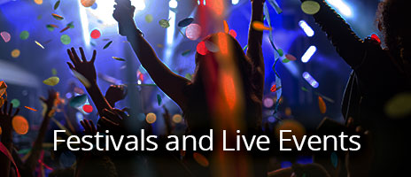 Festival and Live Event Planning