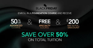 Black Friday Promotion for Event Courses in UK