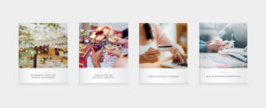 Materials for Event & Wedding Planning Course Unit A