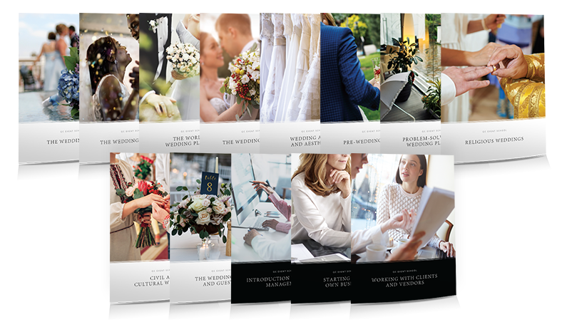 Wedding Planning Certificate Program Course Material