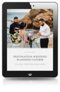Destination Wedding Planning Course Preview Brochure
