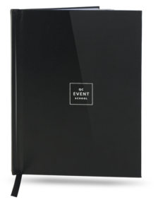 Limited edition QC Event School notebook