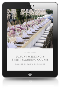 Luxury Wedding and Event Planning Course Preview Brochure