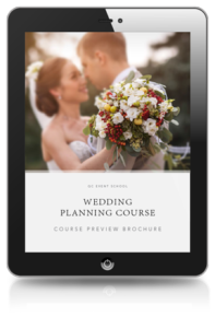 Wedding Planning Course Preview Brochure