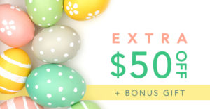 Easter promotion for QC Event School