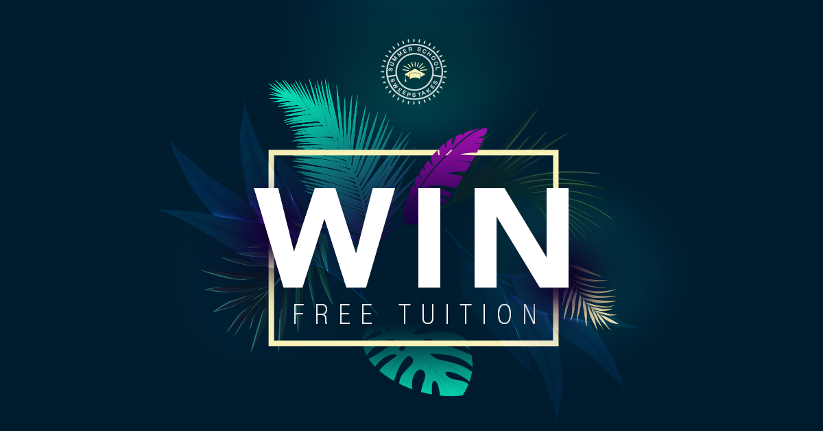 Summer School sweepstakes for event planning courses