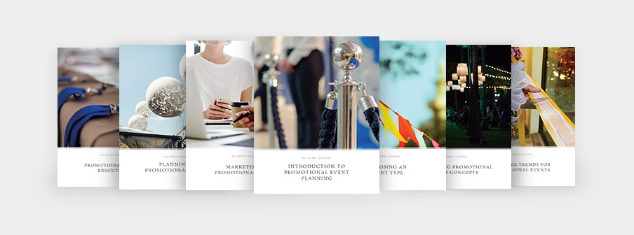 Promotional Event Planning Course Materials