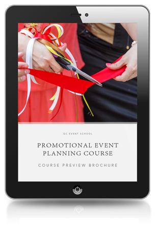 Promotional Event planning course preview