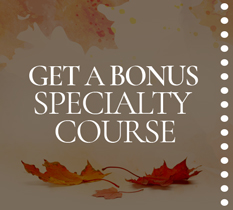 Enroll in Event & Wedding Planning and get a FREE Specialty Course!